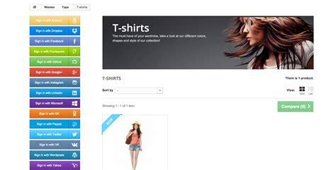 Dremove Social Share Magento Template Emthemes by Social Connect Prestashop Module By Shoppresta Codecanyon