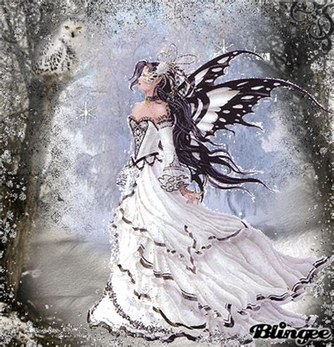 snow fairy picture  blingeecom