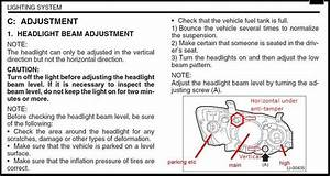 Adjusting 2010 Outback  Legacy Headlights - Page 3