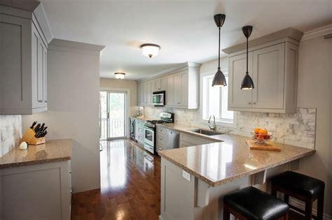 gray cabinets transitional kitchen madison taylor