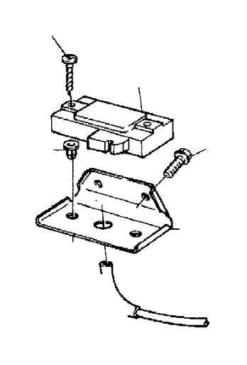 volvo  pressure sensor engine compartment fuel