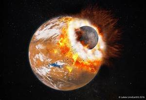 A giant impact: Solving the mystery of how Mars' moons formed