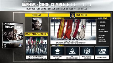 siege complet rainbow six siege year 2 roadmap revealed includes