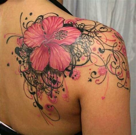 hibiscus cover  tattoo designs  women sheideas