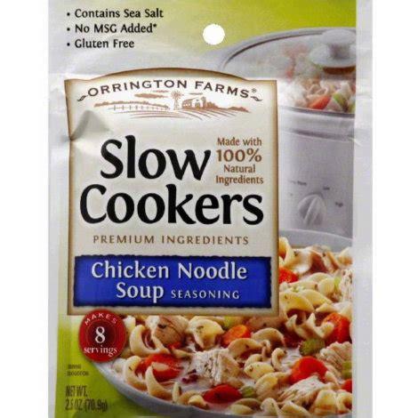 spices for chicken soup orrington farms chicken noodle soup seasoning by orrington farms at mills fleet farm