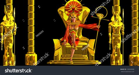 The Throne Of Egyptian Power This Is An Exorbitantly