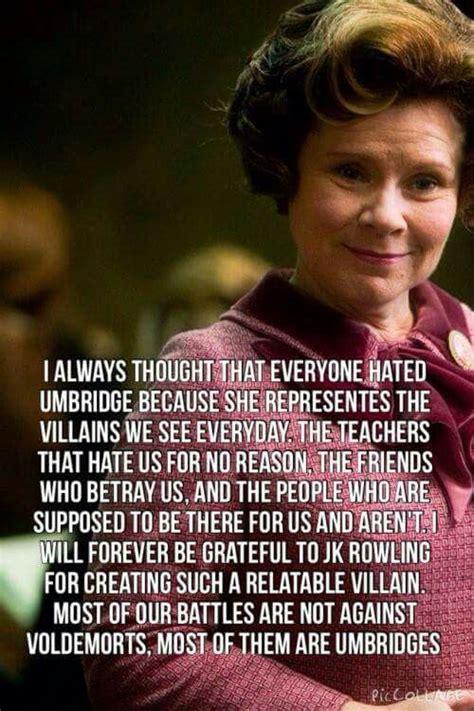 Dolores Umbridge Book Quotes