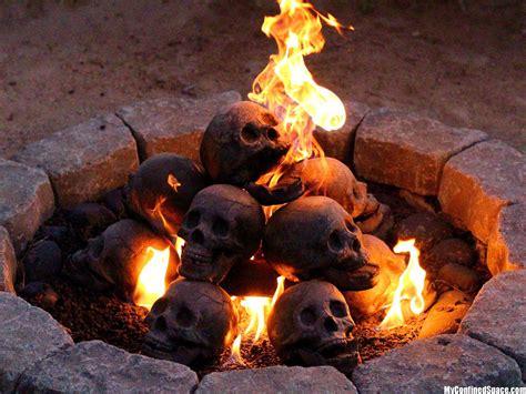 Backyard Skulls by Flaming Skulls Myconfinedspace