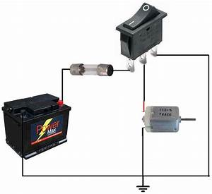 12 Volt Rocker Switch Wiring Diagram