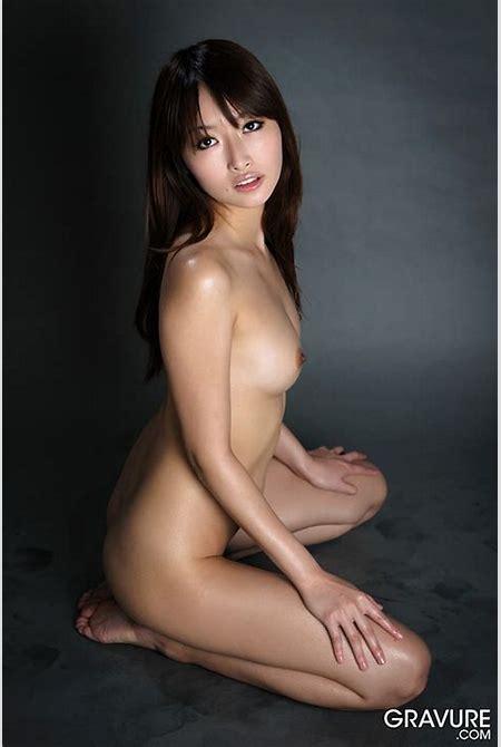 JAV Celebrity Mana Aoki in Nude Art Gravure