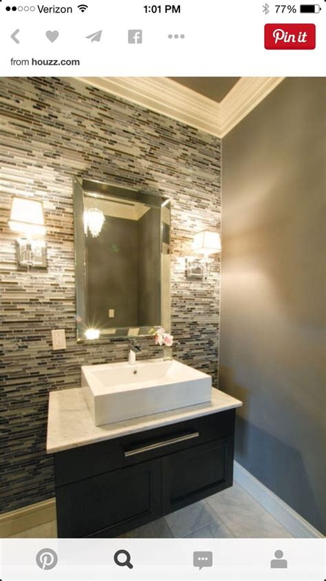 amir bathroom backsplash tiles  simple vanity