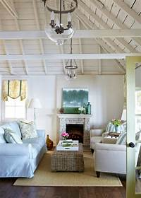 coastal cottage decor Spotted from the crow's nest: Beach House Tour- Cottage on ...