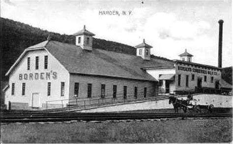 Borden's Creamery, Hamden - Delaware County NY Genealogy ...