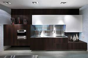 gorgeously minimal kitchens with perfect organization With kitchen cabinets lowes with kansas city wall art