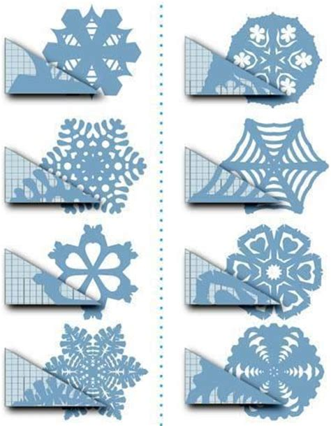 snowflake cutout template 16 easy diy patterns for coffee filter snowflakes guide patterns