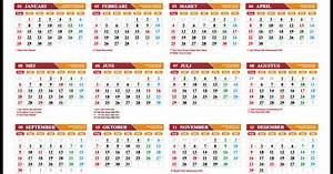 gratis kalender 2018 pdf lengkap libur nasional dan With 2017 september 1 2018 agustus 31