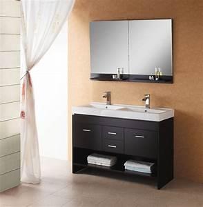 47, Inch, Modern, Floating, Double, Sink, Bathroom, Vanity