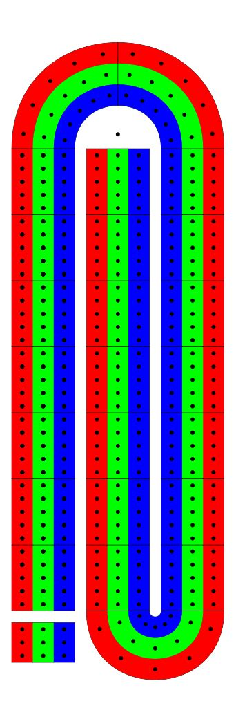 cribbage board template file cribbage board svg wikimedia commons