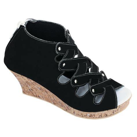 jual sepatu sendal anak wanita murah wedges sandal pesta anak cjr m5503 di lapak humaira