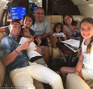 Cristiano Ronaldo All Smiles As He Jets Off To 39travel