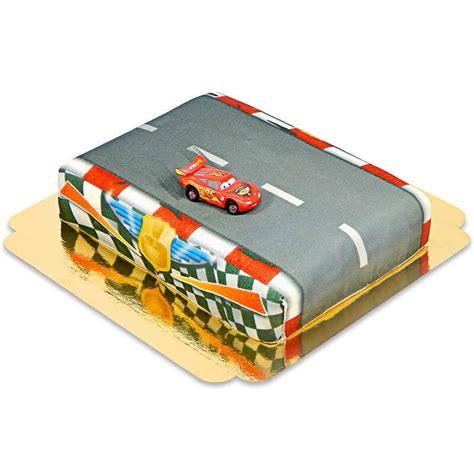 canapé edition flash mcqueen sur gâteau circuit votregateau fr