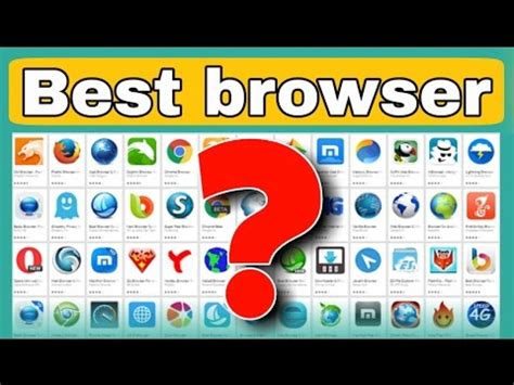 The Best Browser The Best Web Browser 2017