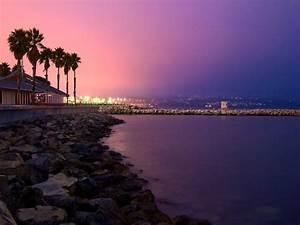 Traquil Sea In Night Wallpapers,Beautiful Beach & Sea ...