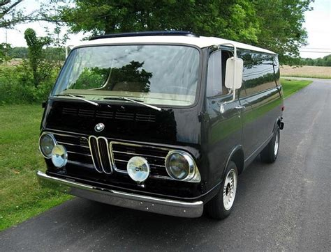 1967 Bmw 069i Panel Van Made A Few Years After They