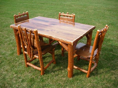 How To Build A Rustic Kitchen Table Ebay
