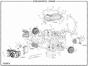 Ryobi Parts On The Figure A Diagram For Ry 903600