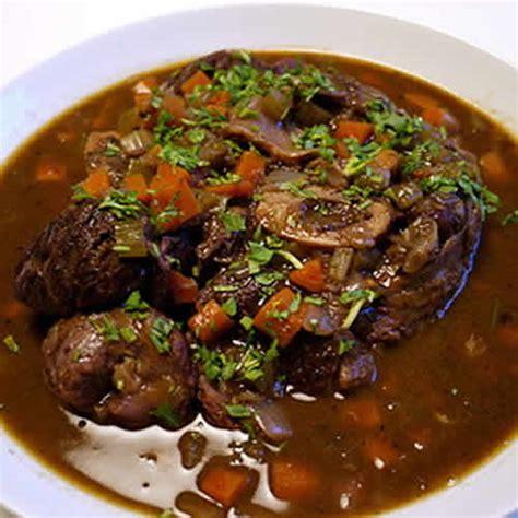 cuisiner du poisson jarret de beuf vin cookeo un plat délicieux avec