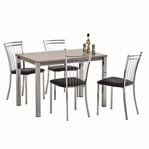 Table Et Chaise De Cuisine : tables et chaises de cuisine mobilier sur enperdresonlapin ~ Teatrodelosmanantiales.com Idées de Décoration