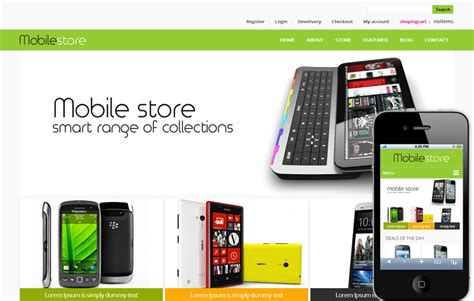 Best Mobile Shopping by 23 Best Ecommerce Shopping Html5 Css3 Templates To Sell