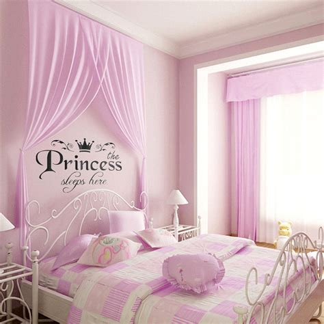 the wall decor aliexpress buy new arrival diy removable princess