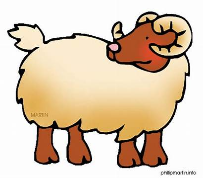 Ram Clipart Clip Animal Battering Chinese Cliparts