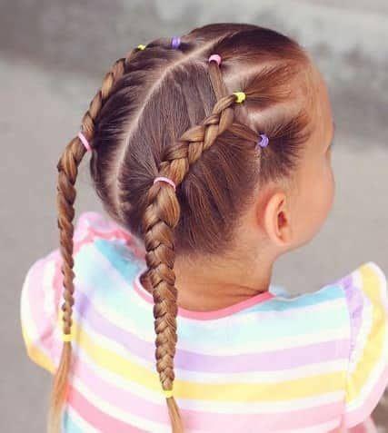 cool braids  kids   kids haircuts braided