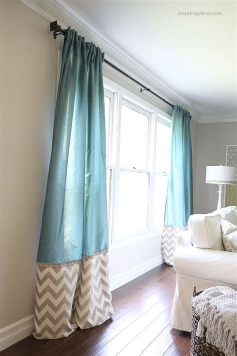 Fabric For Curtains Diy by 30 Day Living Room Makeover I Nap Time