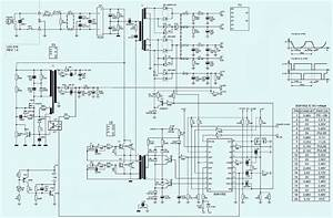 Electro Help  Kob-ap4450xa - 450w Atx - Power Supply - Schematic  Circuit Diagram
