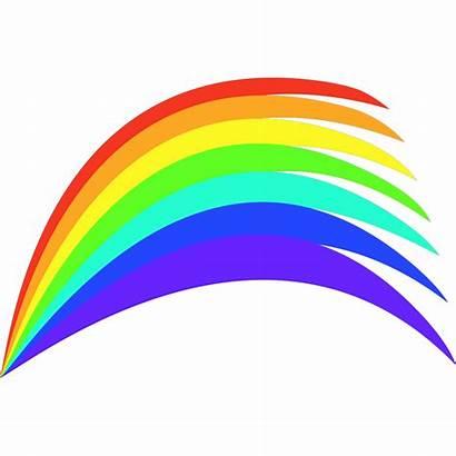 Rainbow Svg Clip Clipart Icon Arts Shaded