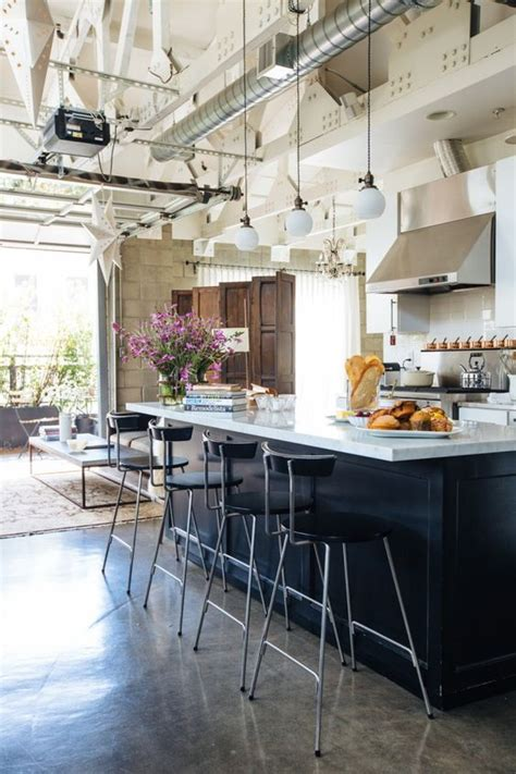 cuisine sur cuisine industrielle 43 inspirations pour un style