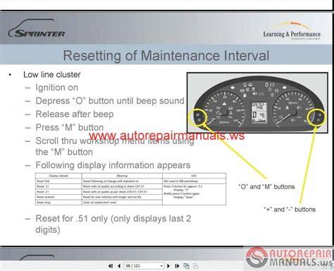 car repair manuals download 2012 mercedes benz m class electronic throttle control mercedes benz sprinter 2010 repair manual auto repair manual forum heavy equipment forums
