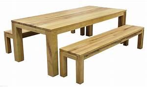 Tisch mit bank holz artownit for for Bank mit tisch