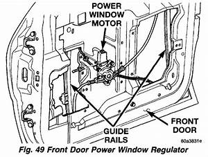 I Am Replacing Passenger Side Door Window Regulator Which