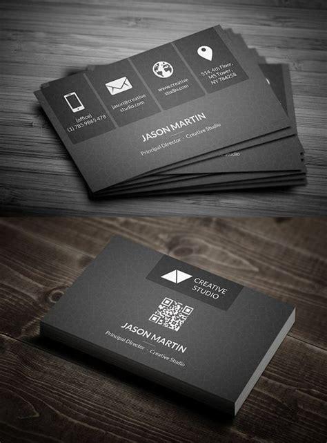 metro dark corporate business card uniquebusinesscards