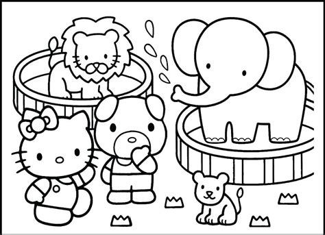 Coloring Zoo by Zoo Animals Coloring Pages Best Coloring Pages For