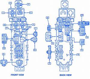 Geo Metro 1994 Hatchback Component Junction Fuse Box  Block Circuit Breaker Diagram