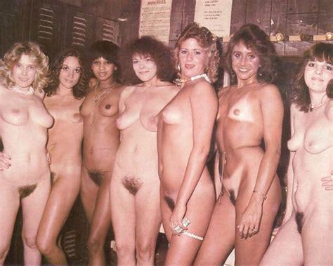 Vintage Bush Group Of Nude Girls Luscious
