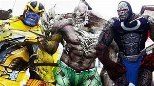 Darkseid VS Doomsday VS Thanos - | EPIC BATTLE - YouTube