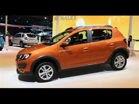 renault sandero stepway 2016 renault sandero stepway redesign 2016 youtube