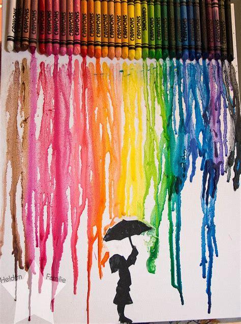 maedchen im farbregen regenbogen bild selbst gemacht mit